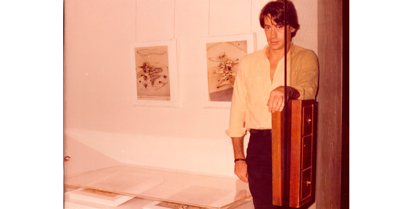 Joaquín Mouliaá, 1979, at Vandrés Gallery.