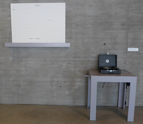 "Installation view of the work ""Dylan in between"" (2001-2017) at the C3A in Córdoba, part of his individual exhibition entitled ""Self-portraits"", 2019."