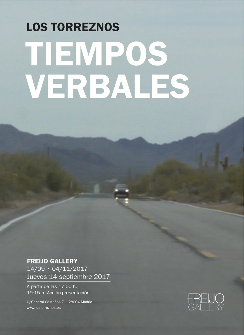 Verb tenses, 2017. Freijo Gallery.