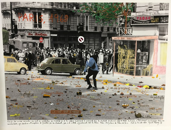 """Paris 1968"", of the 1968 project, The Fire of Ideas."