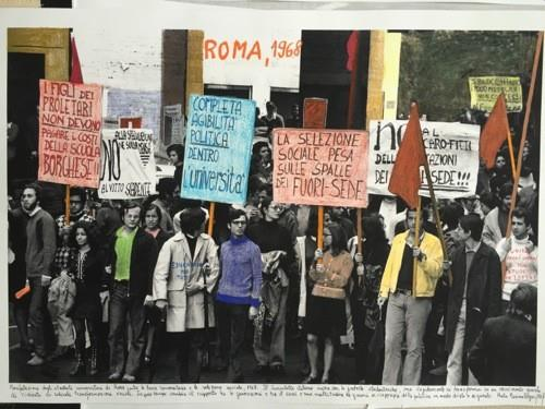 """Rome 1968"", of the 1968 project, The Fire of Ideas."