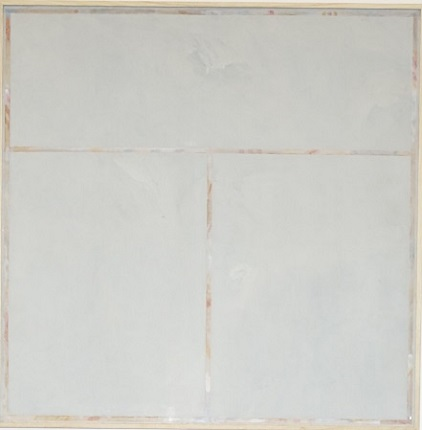 """Negation 23"", 1973. Acrylic on canvas. 110 x 110 cm."