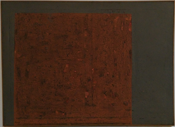 """Painting 11-62"", 1962. Oil on canvas. 82 x 111 cm."