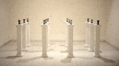 Fragments of time. (1984-86) Installation