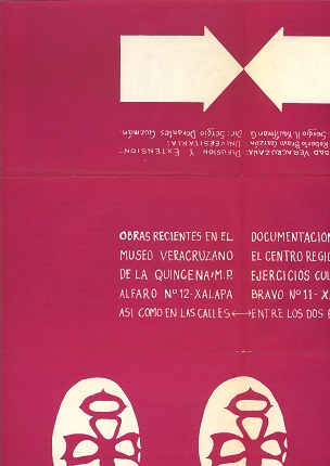 Book poster, 1975. Printed on paper. 63.4 x 44 cm / 16 x 22 cm.