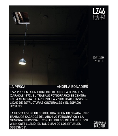 Invitation to the opening in LZ46, Freijo Gallery. November 7 at 8 pm