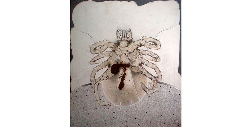 """Mite"", 1975. Canvas painting, 196 x 170 cm."