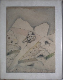 Untitled, 1977. Mixed technique on canvas, 46 x 38 cm.