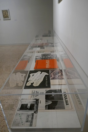 Archival material: newspapers (1971-1991), Vandrés, Inguanzo and Seiquer exhibition catalogues, Mouliaá catalogue of the 1972 Venice Biennale, catalogue of the Spanish Pavilion at the 1972 Venice Biennale, photographs of his exhibitions in Vandrés.