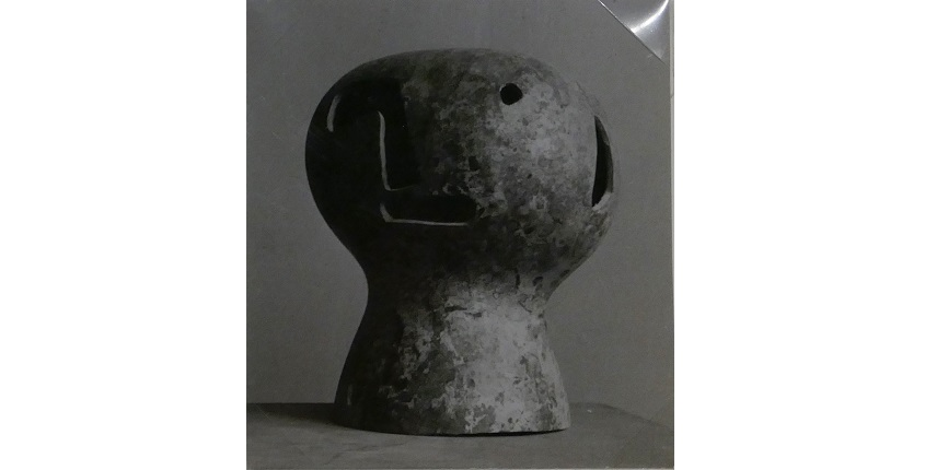 "Marianne Gast. ""Open minds and empty heads"", ca. 1950. Fotografía vintage. 7,5 x 7 cm."
