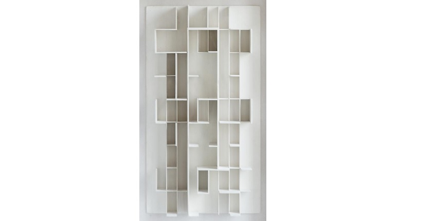 Elena Asins. Model. From the Scale Series. Project for a city. Ca. 1982-83.